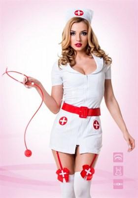Костюм похотливой медсестры белый L/XL(46-48), Le Frivole