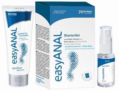 Набор анальный easyANAL (смазка+спрей расслабляющий) 80ml, Spray 30ml