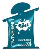 Возбуждающий лубрикант Wet Original саше, 10mL