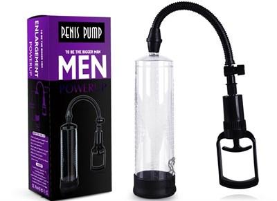 Помпа мужская Penis Pump диаметр 6см, длина колбы 22см