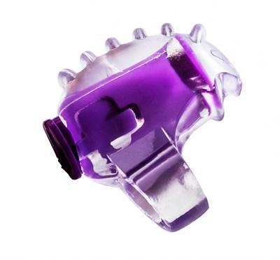 "Вибронасадка на палец ""Rings Chillax"" фиолетовая"
