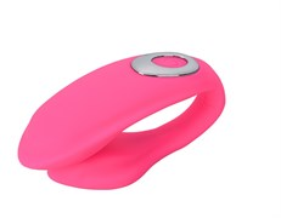 Вибромассажер NONA для парного применения, 10 режимов, фиолетовый