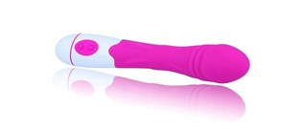 Вибратор точки-G Female из силикона, 30 режимов, розовый