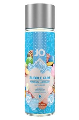 Оральный лубрикант JO Candy Shop, вкус Бабл Гам, 60мл