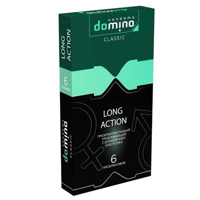 Презервативы Domino Classic Long Action пролонгирующие, 6 шт.